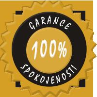 Garance 100% spokojenosti